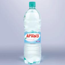 Вода газированная минеральная АРХЫЗ, 1л, пластиковая бутылка, ш/к 02097