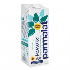 Молоко PARMALAT (Пармалат), жирность 0,5%, картонная упаковка, 1л, ш/к 02317