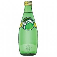 Вода газированная минеральная PERRIER (Перье), 0,33л, стеклянная бутылка, ФРАНЦИЯ, ш/к 10833