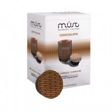 Капсулы для кофемашин DOLCE GUSTO CIOCCOLATO, натуральный кофе, 16 шт*7г, MUST 61371