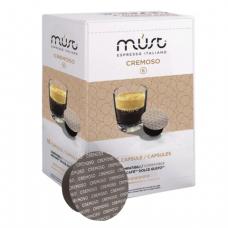 Капсулы для кофемашин DOLCE GUSTO CREMOSO, натуральный кофе, 16 шт*7г, MUST 61326