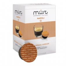 Капсулы для кофемашин DOLCE GUSTO NAPOLI, натуральный кофе, 16 шт*7г, MUST 61401