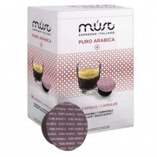 Капсулы для кофемашин DOLCE GUSTO PURO ARABICA, натуральный кофе, 16 шт*7г, MUST 61319
