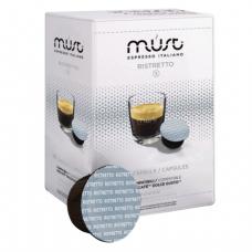 Капсулы для кофемашин DOLCE GUSTO RISTRETTO, натуральный кофе, 16 шт*7г, MUST 61333